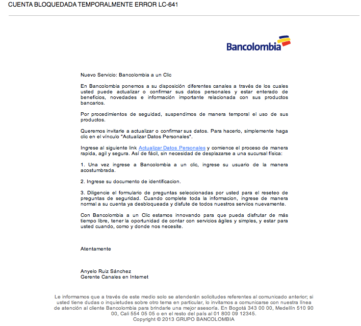 spam_bancolombia