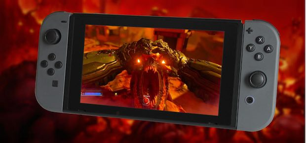 Disponible actualización 1.1 de DOOM para Nintendo Switch