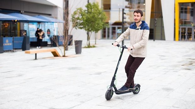  Primer scooter eléctrico con Android a bordo #MWC18